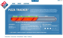 Website Review and Rate: Dominos com