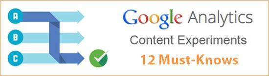 content experiments header